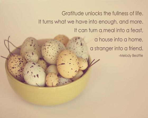 Year of Gratitude